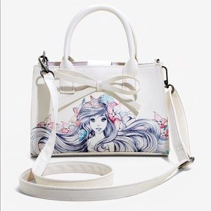 DISNEY THE LITTLE MERMAID ARIEL PASTEL BOW HANDBAG